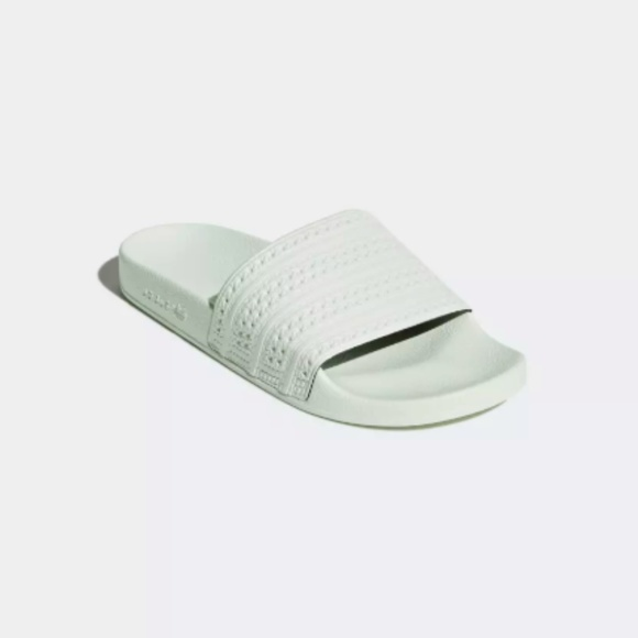 check out 97075 57fd5 adidas Shoes - adidas Originals Adilette slide linen mint green